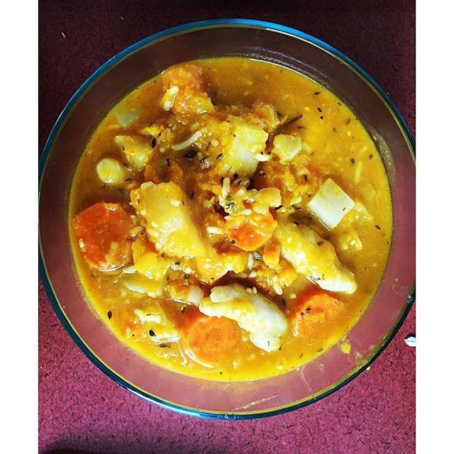jamaican chicken pumpkin soup  jamaican dishes jamaican