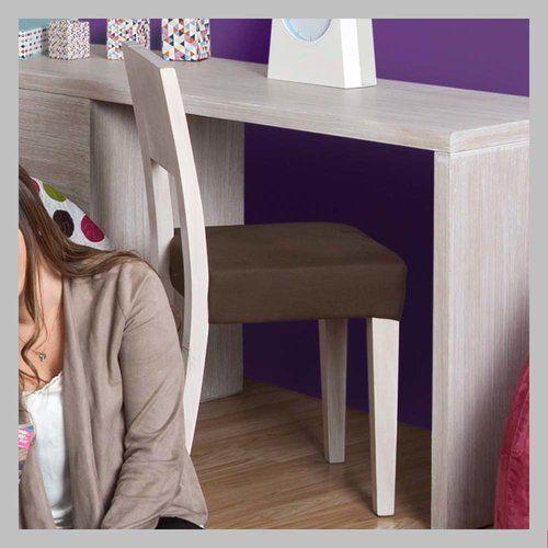 silla en madera para nio sm silla para escritorio con espaldar en madera cedro
