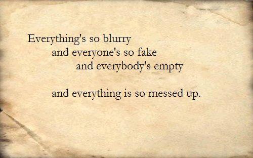 Puddle of Mudd- Blurry | Music | Rock lyric quotes, Music