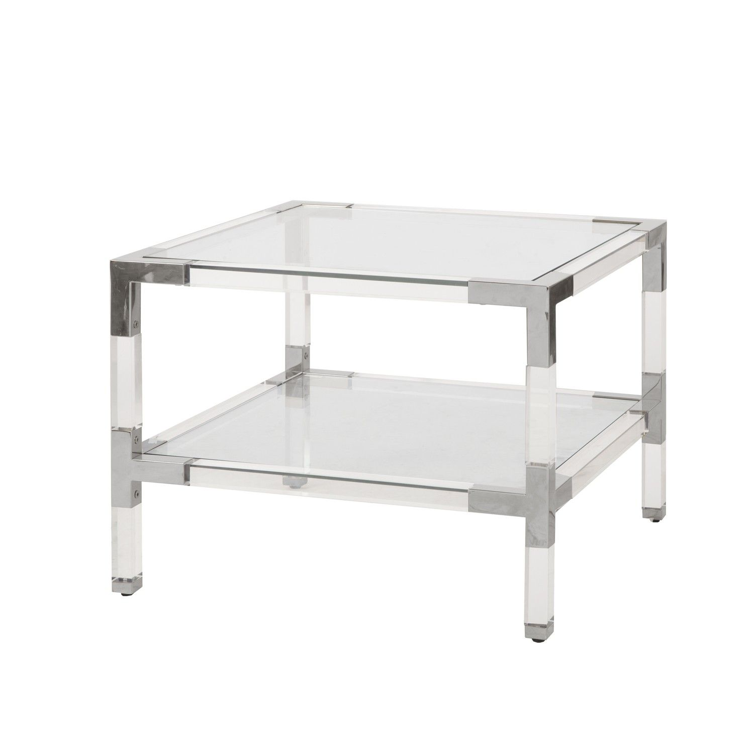 Connor N What S New Acrylic Side Table Brass Side Table Side Table
