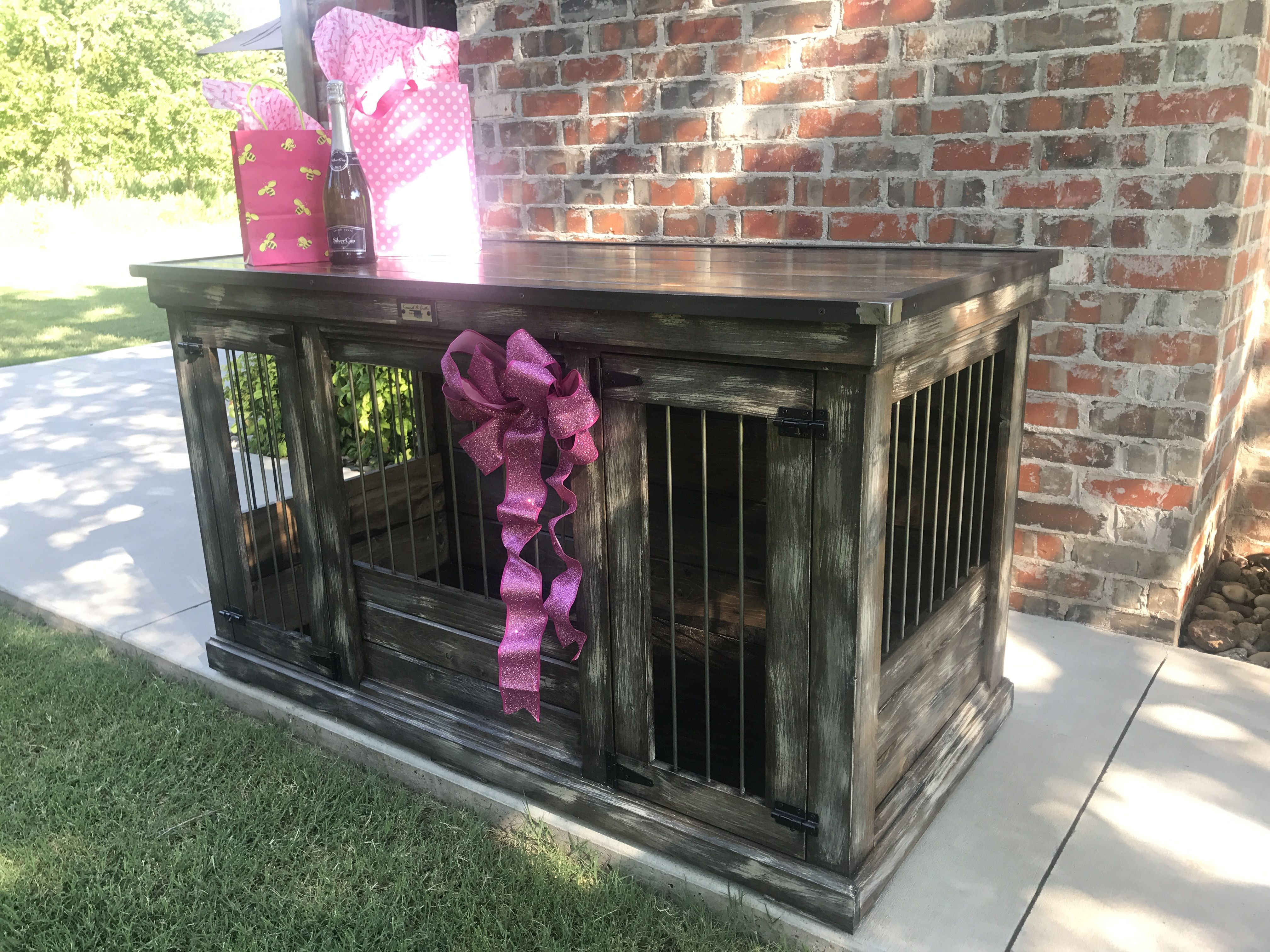 Designer Indoor Dog Kennels Replace Your Wire Dog Crate