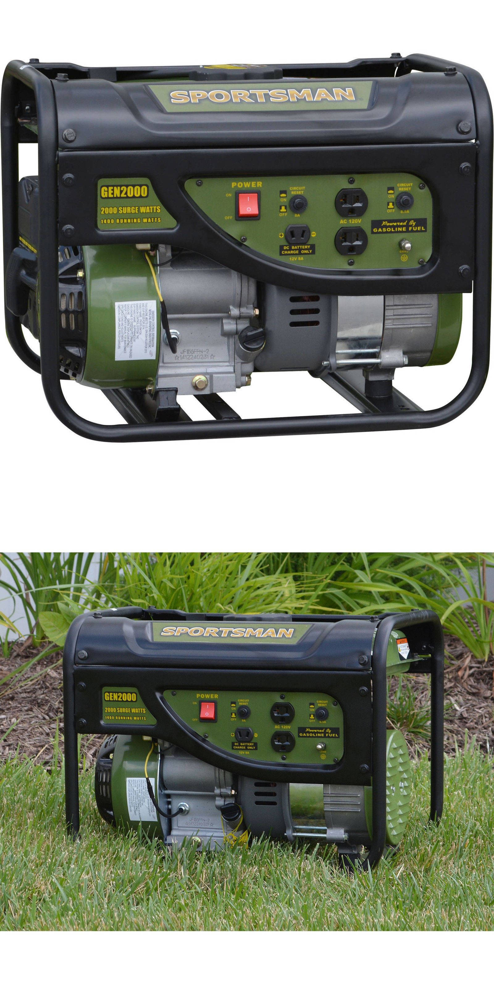 Generators Sportsman Gasoline 2000W Watt Portable Generator
