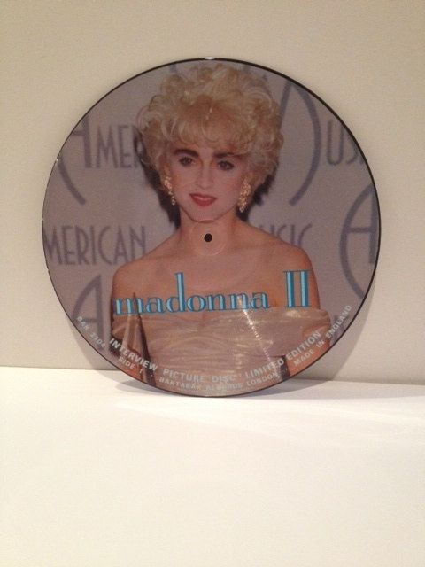 Madonna Vinyl Picture Disc Album Interview Import Record Ltd