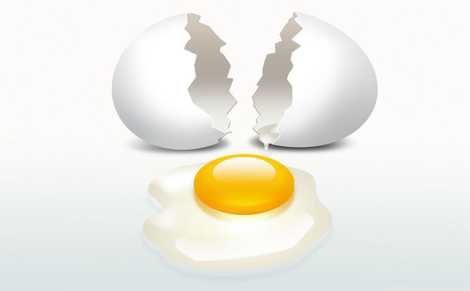 Broken Egg Cartoon Hd Wallpaper White Eggs Eggs Broken Egg