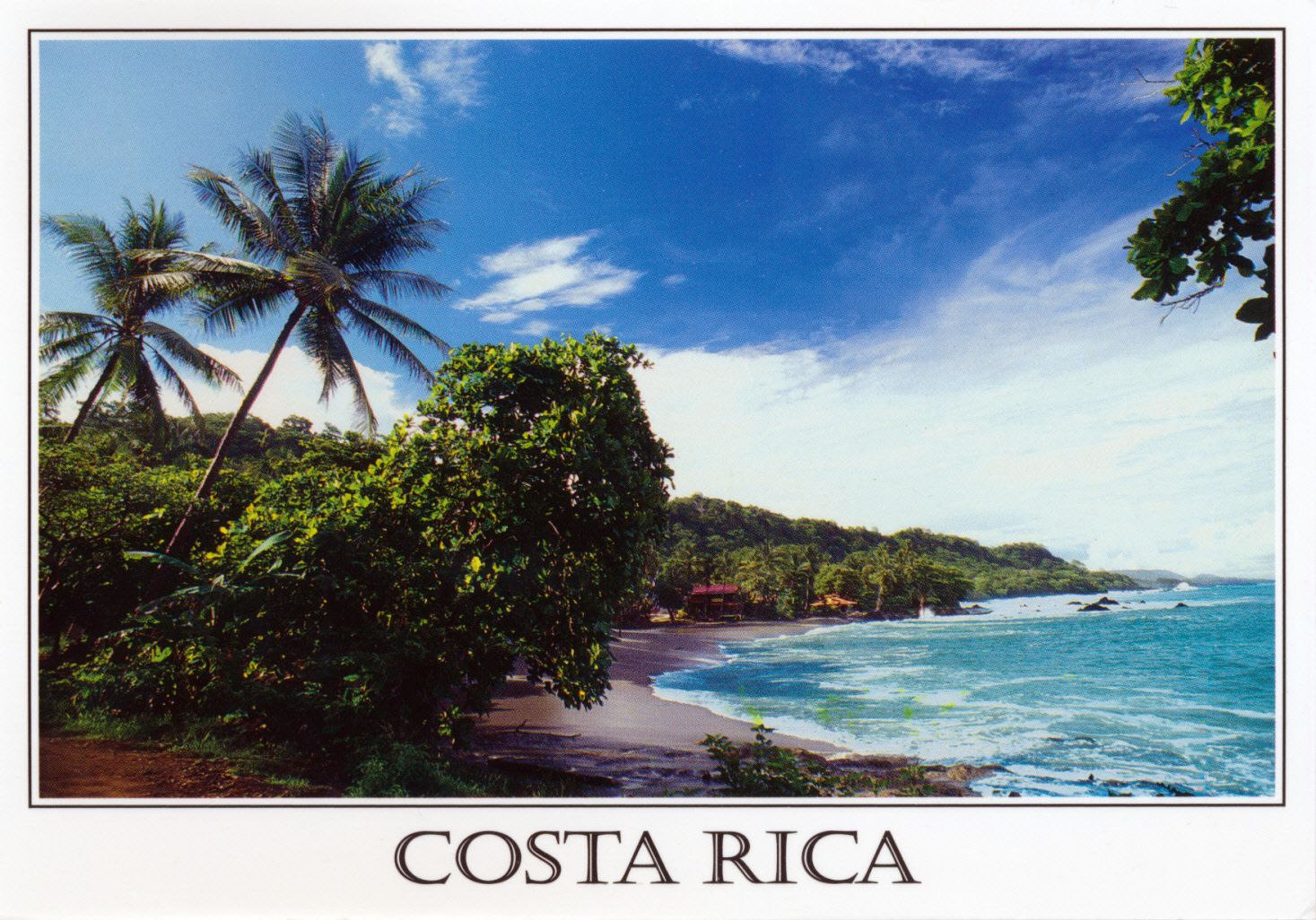 Costa Rica Postcard From Marcela In Costa Rica Postcards For