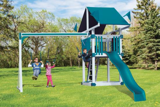 Kc 3 Deluxe Backyard Playset Best Swing Sets Step Ladders