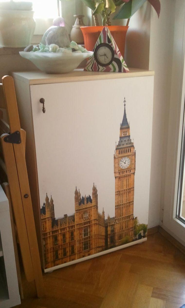 Papel Pintado Para Armarios Para Decorar Muebles Pinterest  ~ Decorar Muebles Con Papel Pintado