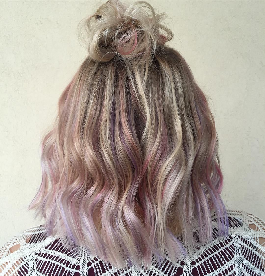 pink hairstyles as the inspiration to try pink hair pink dip