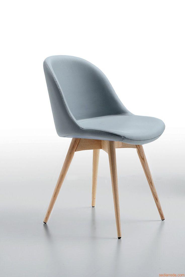 Sonny LG | Sedia in legno, diversi rivestimenti e colori disponibili ...