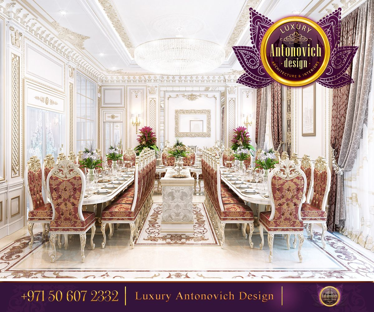 Pin By Luxury Antonovich Design On Dining Room Dining