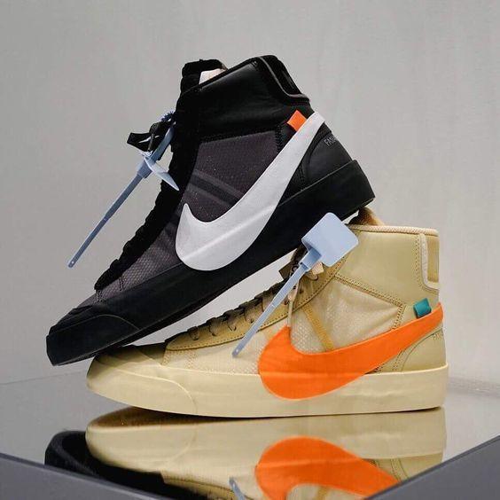b5944d938002 Off-White X Nike Blazer Mid.