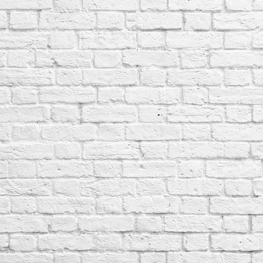 White Brick Wall Art Pinterest