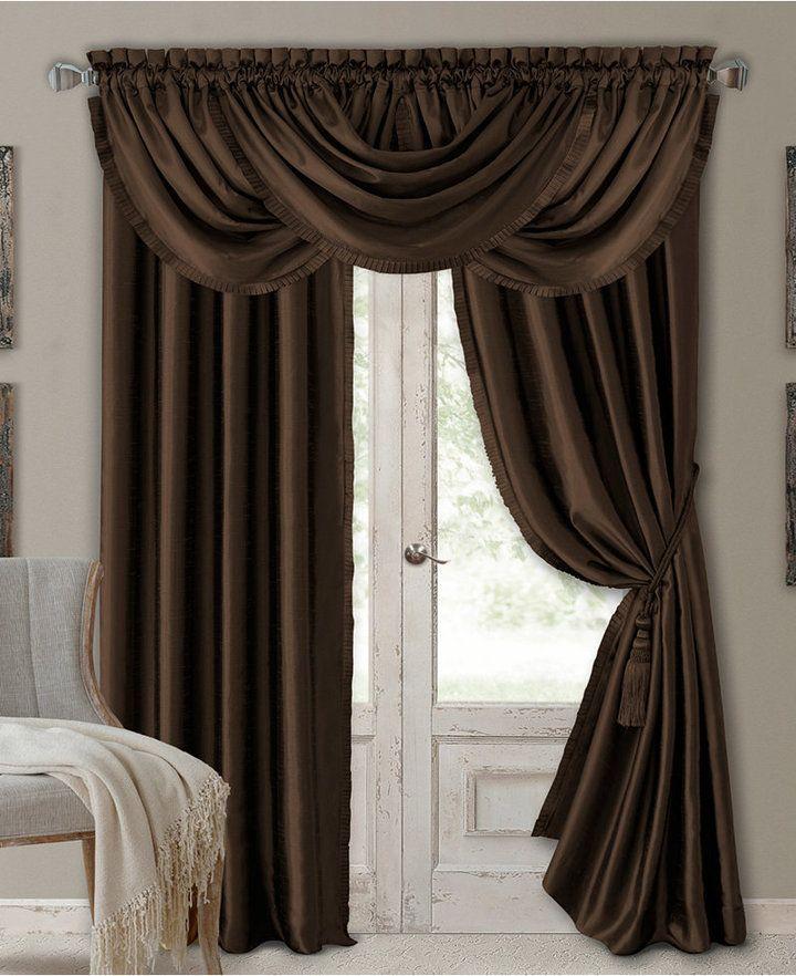 Elrene Versailles 52 X 36 Room Darkening Window Valance