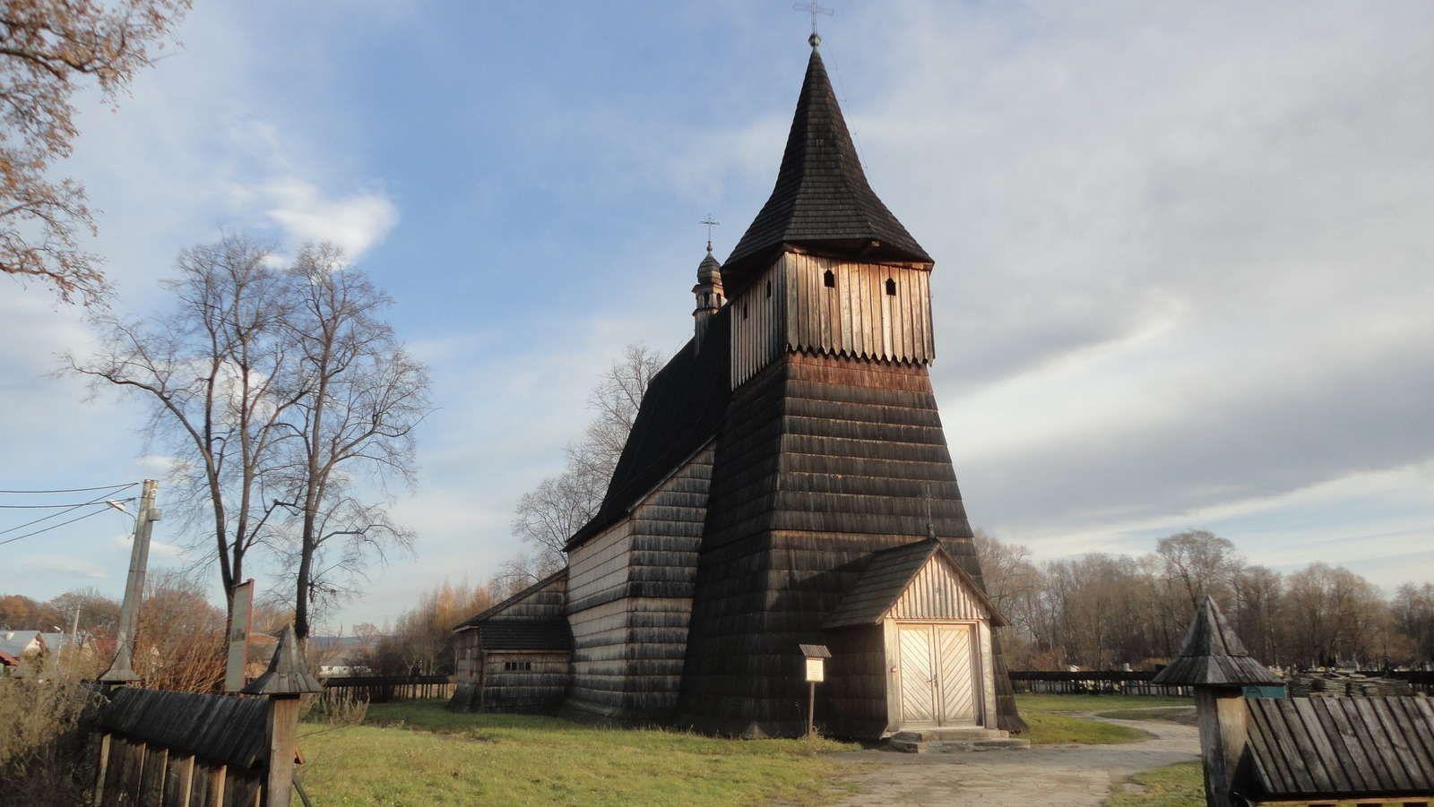 Zdjęcia drewnianych cerkwi i kościołów w Beskidzie | Wczasy pod gruszą http://www.domkiwbeskidach.pl/noclegi-jaslo.html
