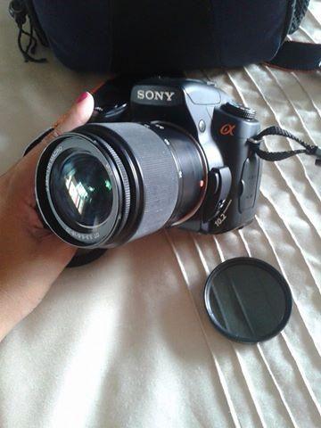 Camera sony alpha 300