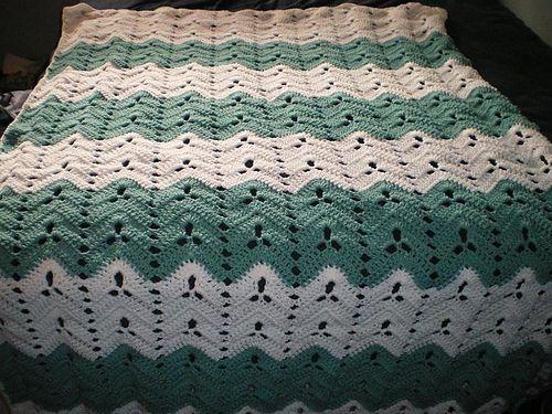 Shamrock Ripple pattern by Jane Davis