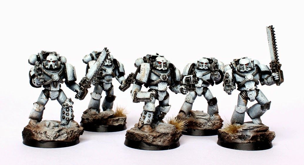 Space Marines MARK IV-Bolter 10x-Big Pack