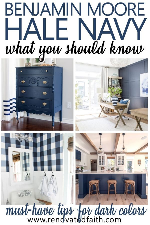 Benjamin Moore Hale Navy: WHAT YOU SHOULD KNOW!