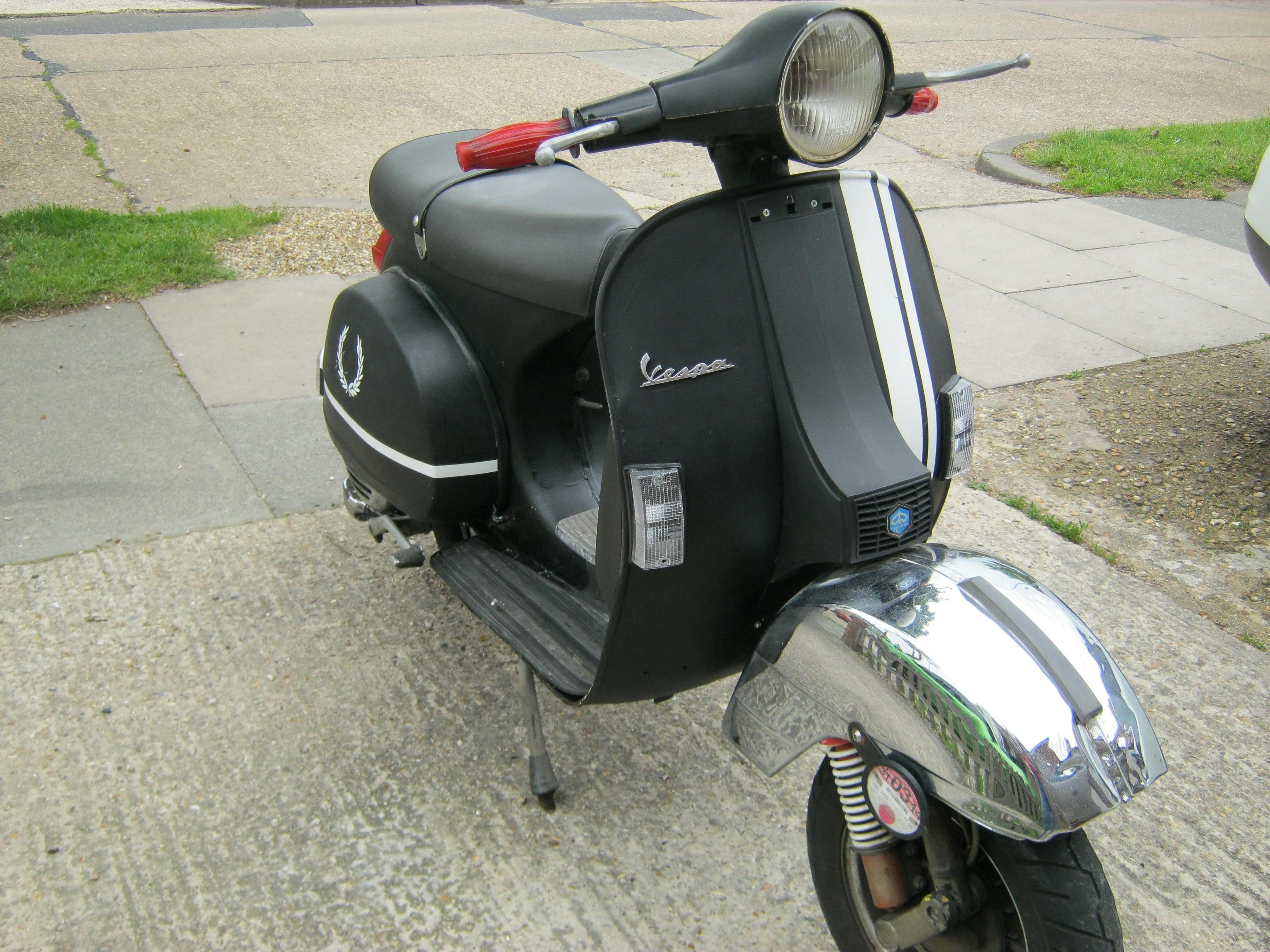 PX125, 1979, Matt Black. £750 | Vespa mon amour ...