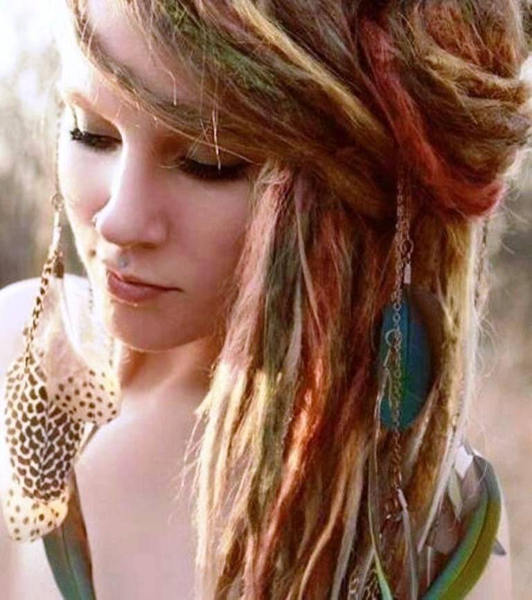 Hippie Hairstyles 27 Cute Hairstyles For Hippie Girls Medium Hair Styles Hippie Hair Medium Length Hair Styles