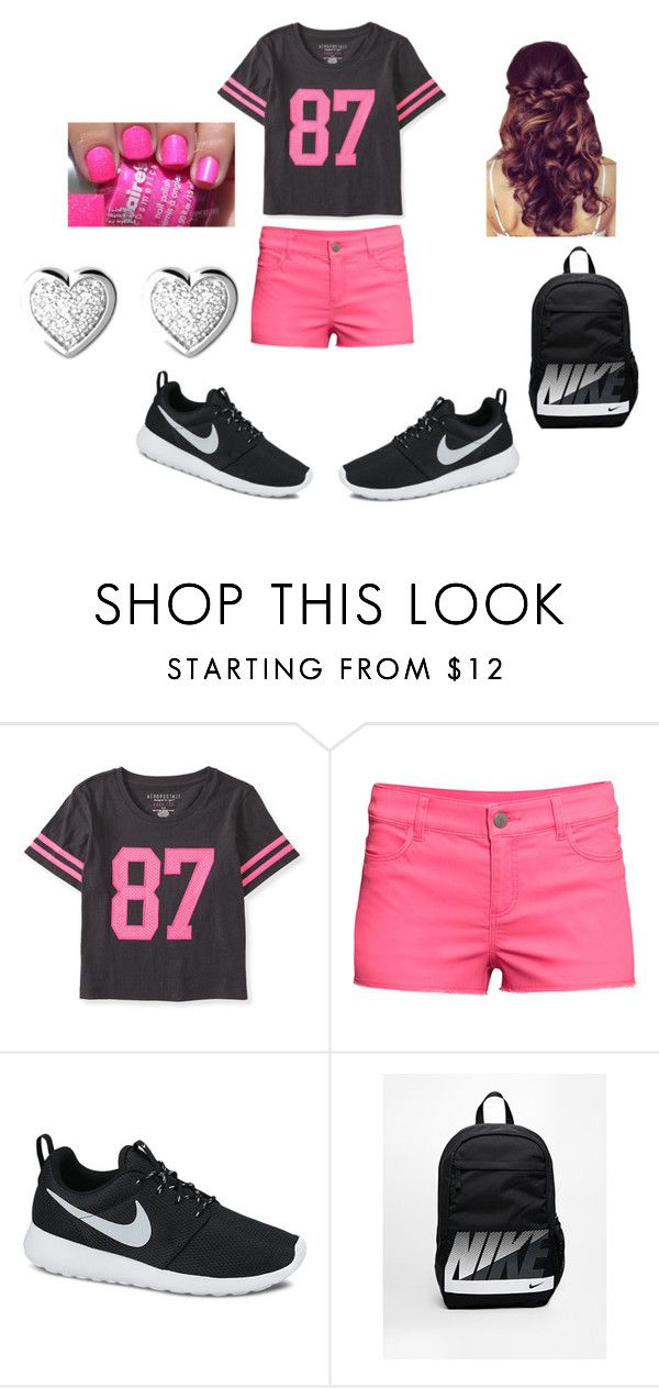 """""""Just another day of me!!"""" by jaylene78 ❤ liked on Polyvore featuring interior, interiors, interior design, home, home decor, interior decorating, Aéropostale, H&M, NIKE and Links of London"""