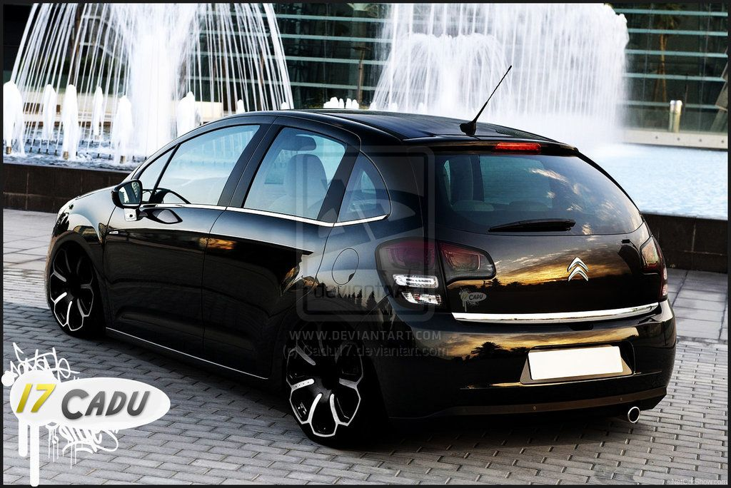 citroen c3 blackmotion street virtual tuning. Black Bedroom Furniture Sets. Home Design Ideas