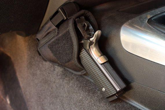 Vehicle Holster Car Truck Handgun Pistol Mount By