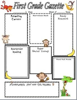 This Mischievous Monkey Newsletter Is A Great Way To Keep Your