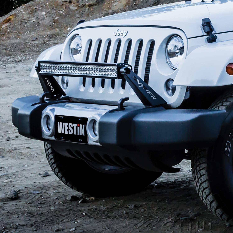 westin snyper bumper mount 30 led bar for jeep® wrangler jk is westin snyper bumper mount 30 led bar for jeep® wrangler jk is designed to