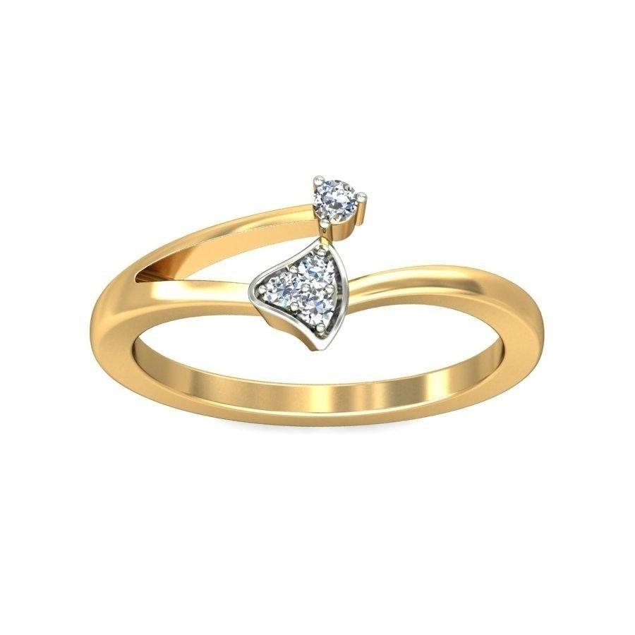 Diamond Rings Below Rs 10000