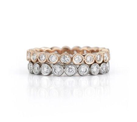 Circle Of Love Diamond Band - Women's - Wedding Bands