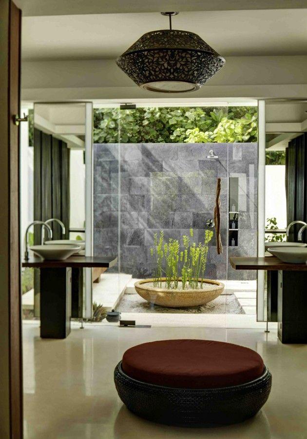 37 Amazing Bathroom Designs That Fused with Nature Amazing