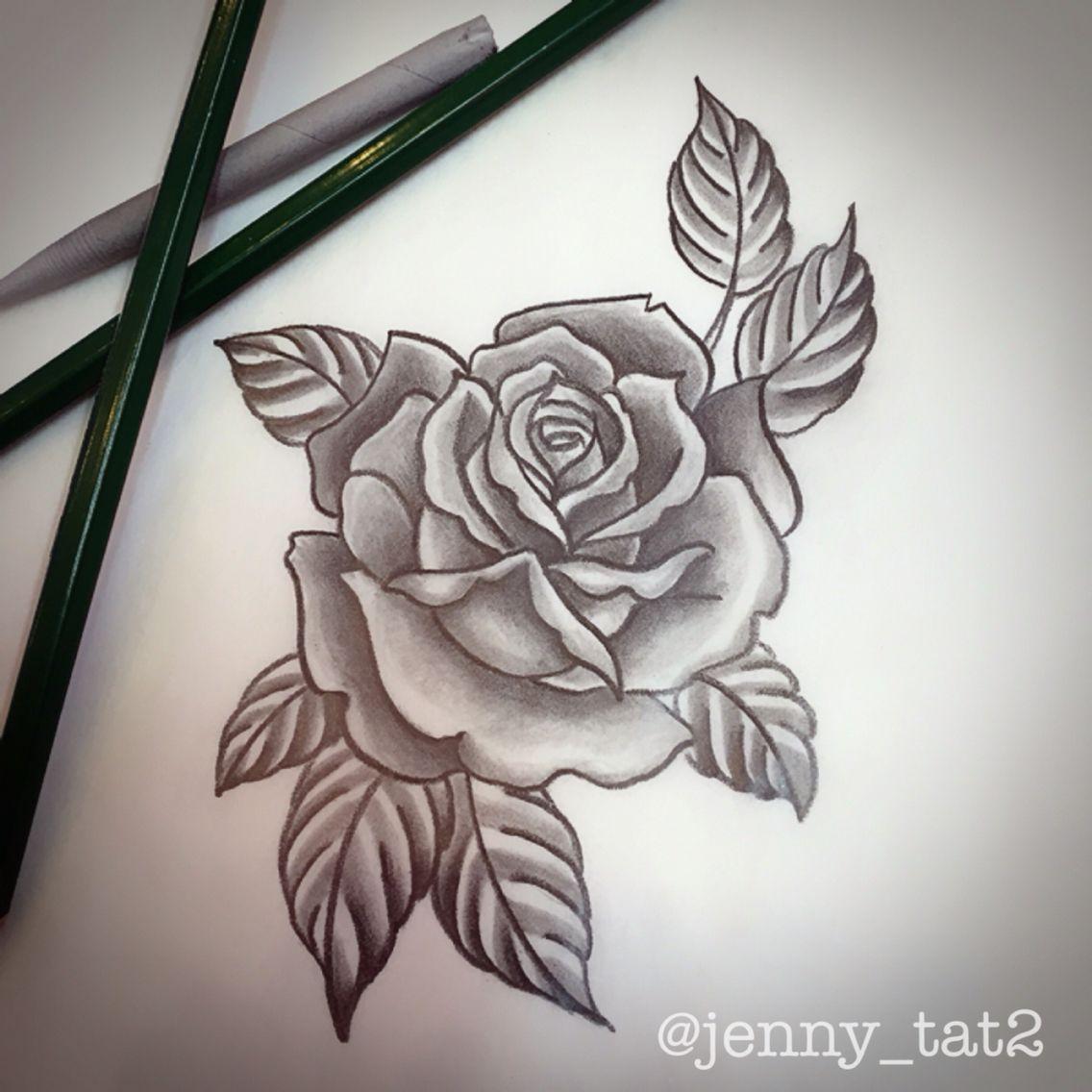 Love This Rose For A Tattoo Tattoos Tattoos Rose Tattoos
