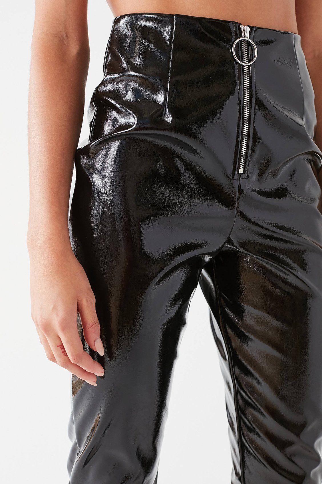 I.AM.GIA Winona Patent Leather Zipper Pant Patent