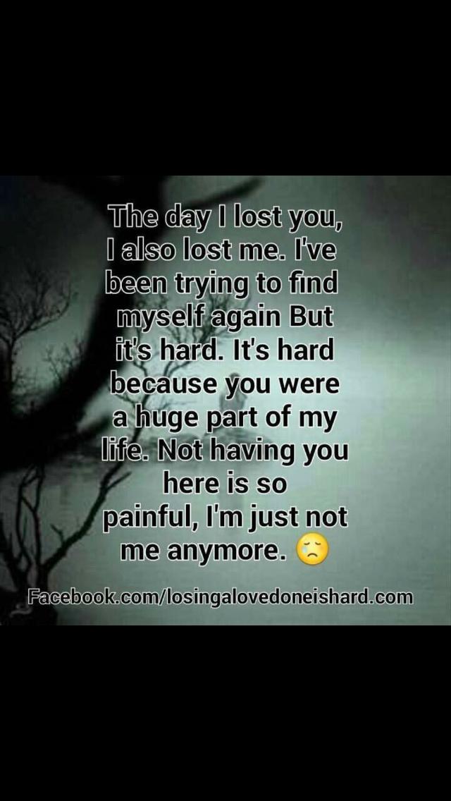 I Dont Remember Who I Was I Was So Happy Now I Am So Sad I Miss