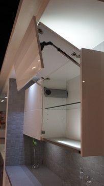 Wall Kitchen Cabinet With Lift Up Folding Door Modular Kitchen
