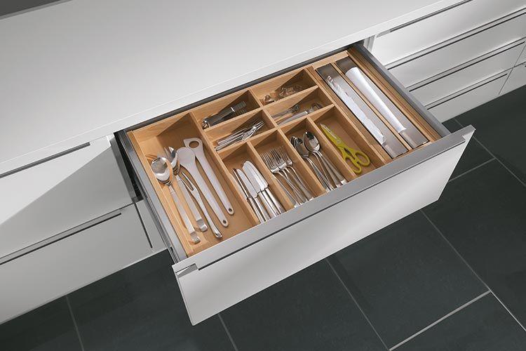 Küchenideen moderne Inspirationen nolte-kuechende Mutfak Iç - besteckeinsatz für nolte küchen