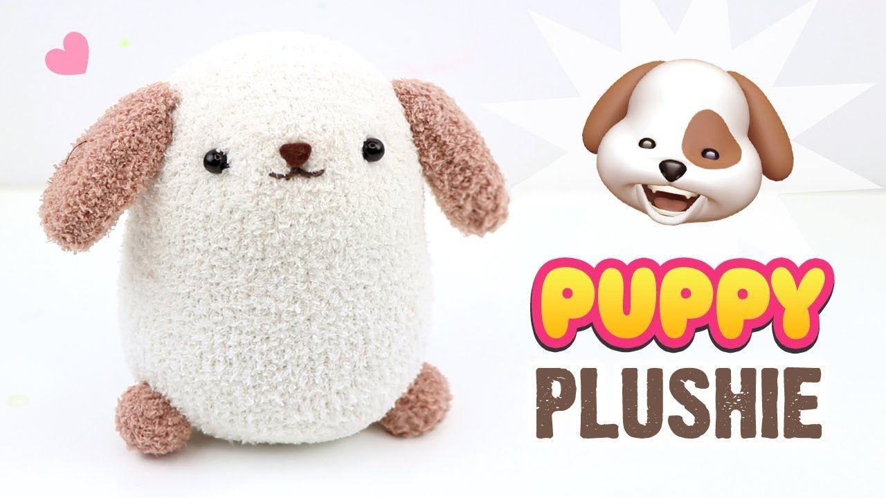 Diy Dog Plushie Easy Puppy Sock Plush Tutorial Fun Budget Crafts Youtube Diy Dog Stuff Sock Animals Diy Diy Socks