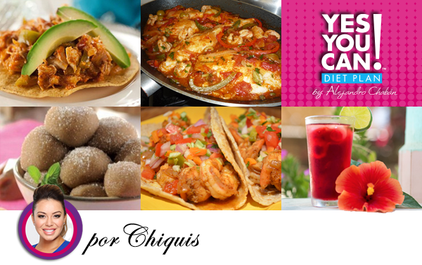 Photo of 5 Mexican Recipes The Yes You Can! Diet Plan Style by Chiquis Rivera – Yes You C…
