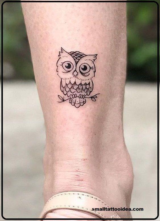 25 Little Owl Tattoo Ideas Owl Tattoo Small Simple Owl Tattoo Owl Tattoo