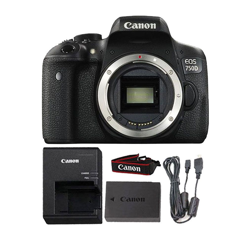Canon Eos 750d T6i 242mp Digital Slr Wi Fi Enabled Camera Body 760d Only Dslr 760 Bo