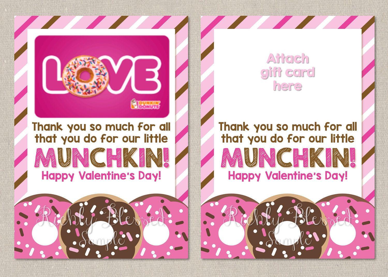 Teacher Valentine Valentine Gift Card Holder Money Holder