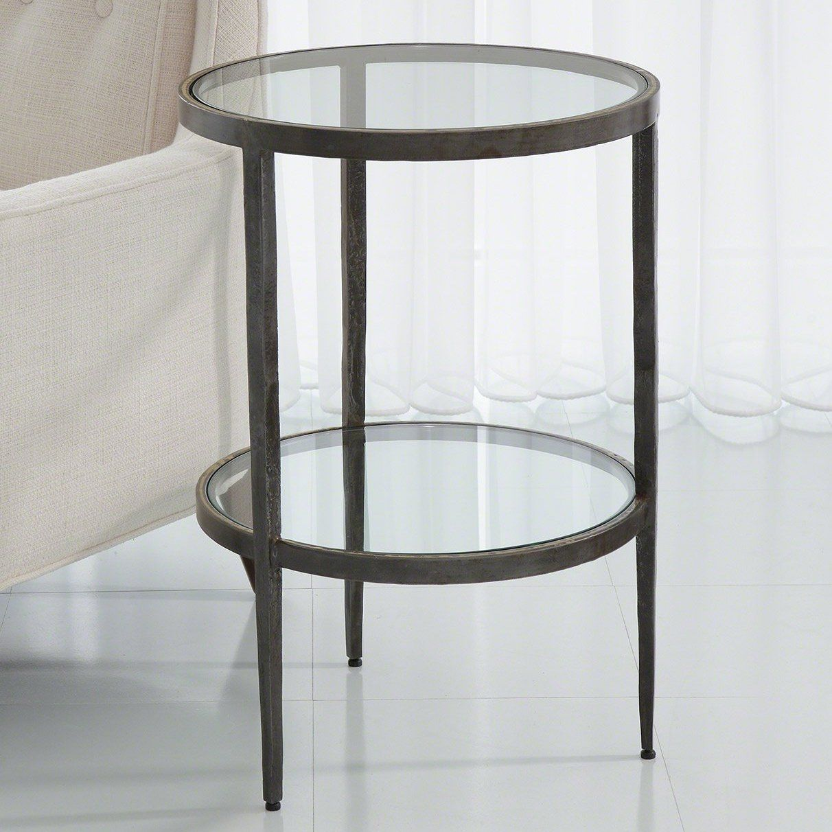 Studio A Laforge Two Tiered Side Table Side Table Table Home Decor