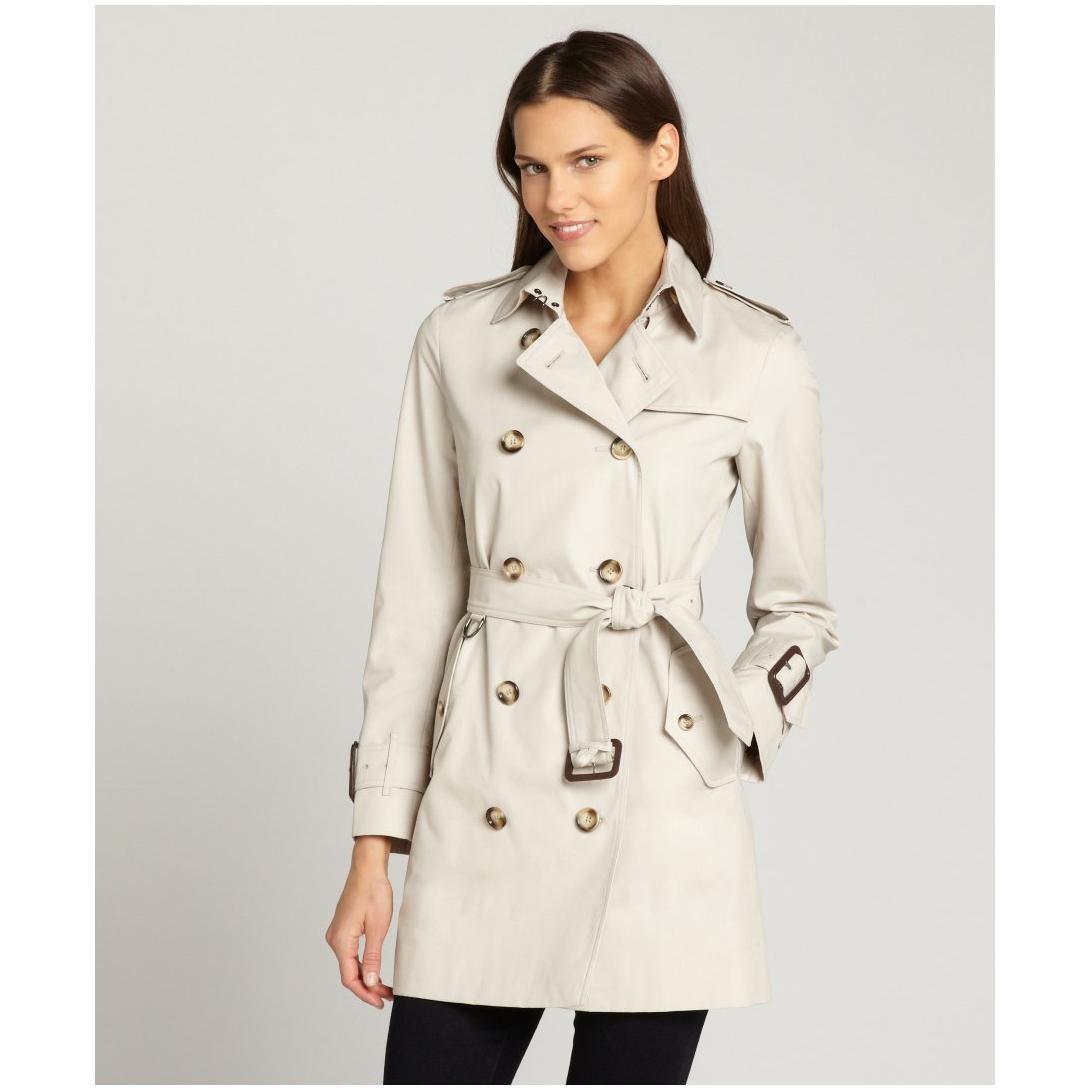 Cotton trench coat women