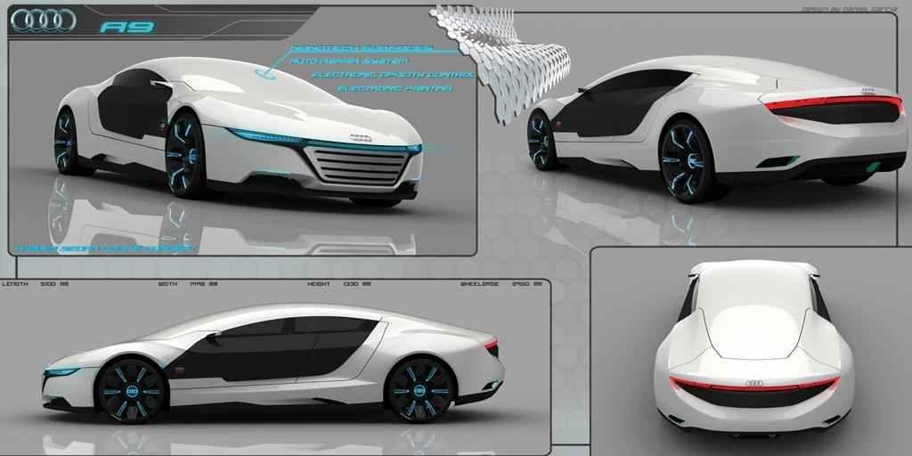 Audi A Concept Rendered Httpwwwcarmodelscom - Audi car 2018