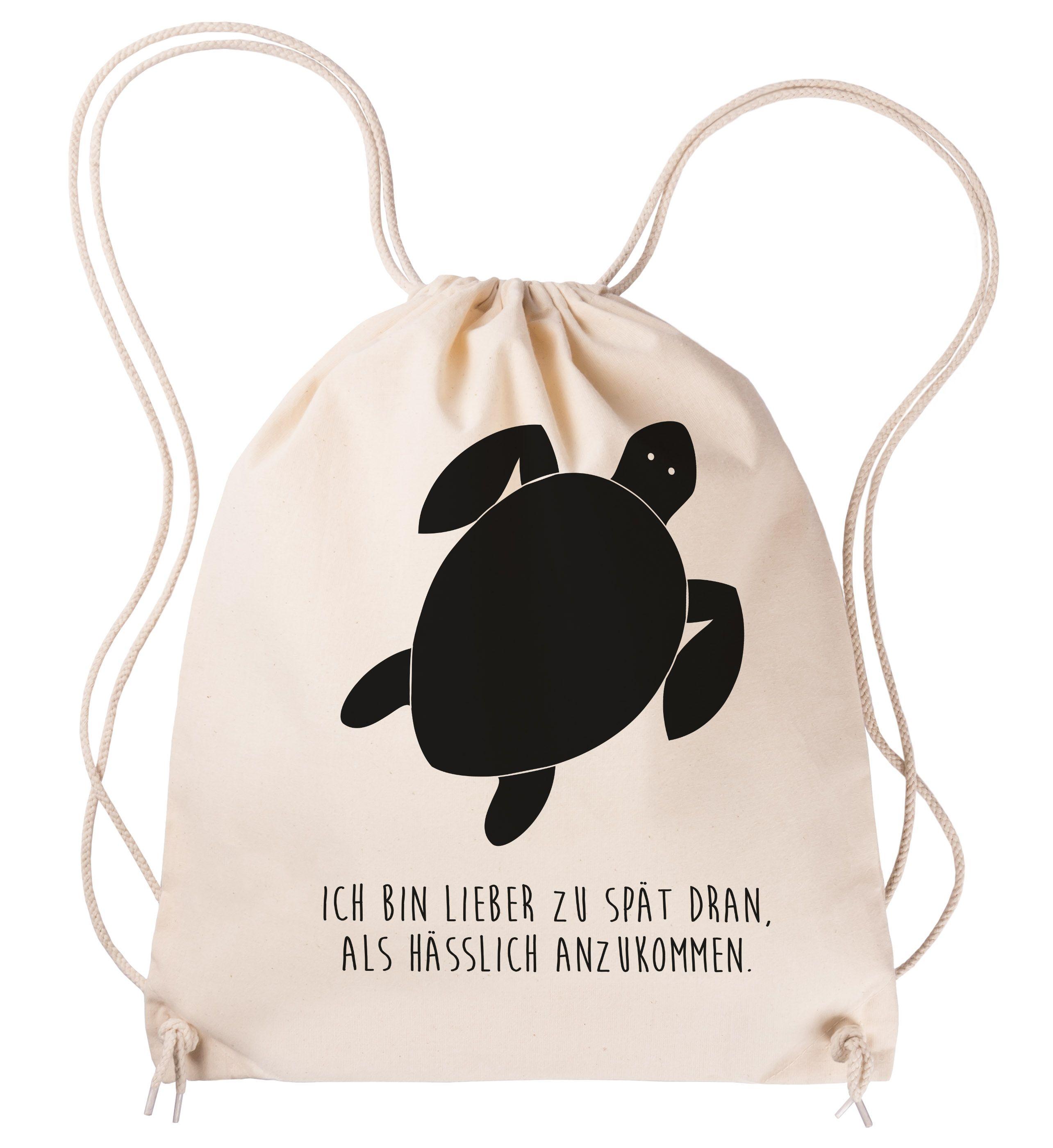 Sportbeutel Schildkröte aus Baumwolle Natur - Das Original von Mr ...