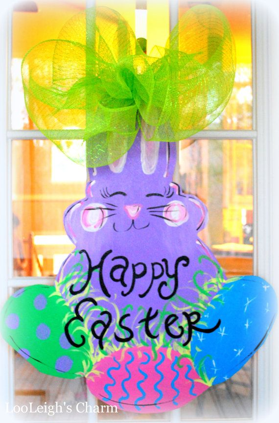 Easter Door Hanger, Easter Decoration, Easter Door ...