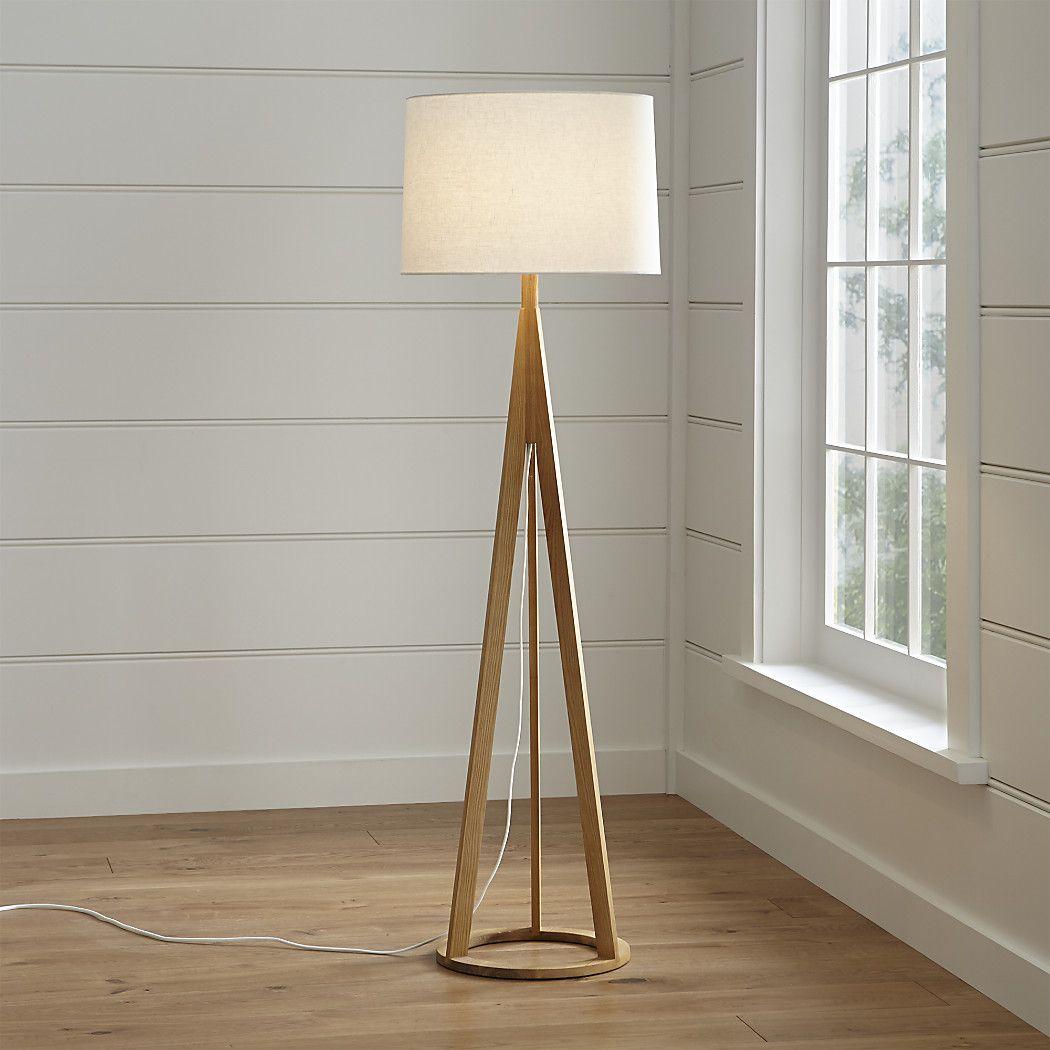 Jackson Natural Tripod Floor Lamp + Reviews Crate and