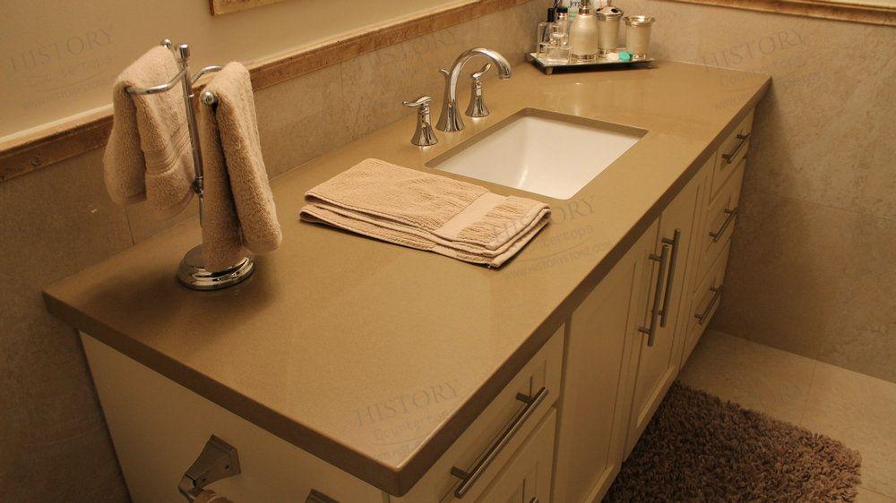 Best Cheap Chocolate Brown Quartz Bathroom Countertops Bathroom