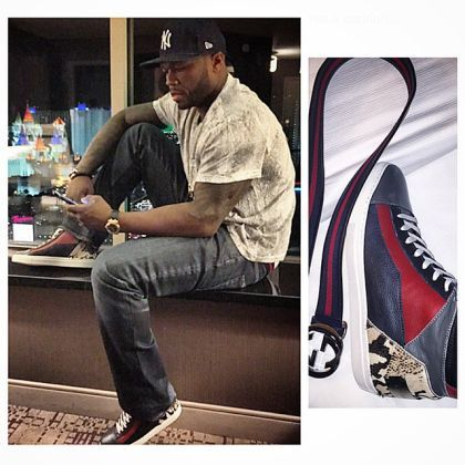 50 Cent Has a Super Expensive Sneaker Collection and It's